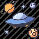 alien, galaxy, space, spaceship, ufo, universe
