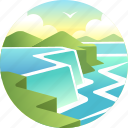 travel, tourism, niagara falls, waterfall, niagara, ontario, usa