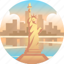 america, independence, landmark, liberty, monument, statue, statue of liberty