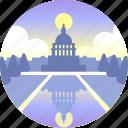 america, congress, democracy, government, united states, washington, washington dc icon