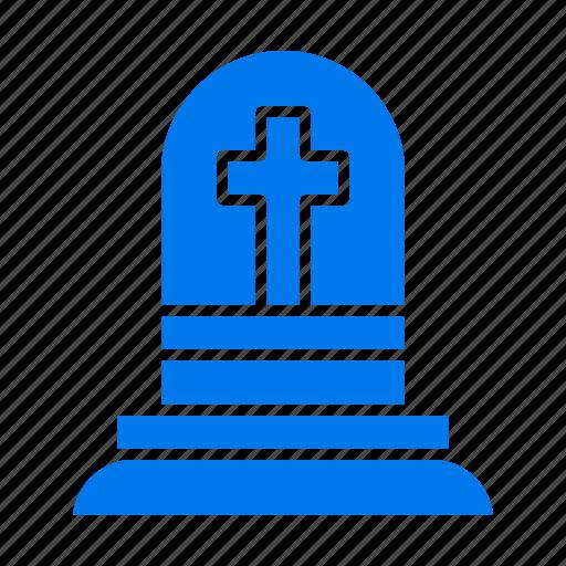 death, grave, gravestone, rip icon