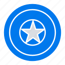 day, holiday, independece, independence, medal icon