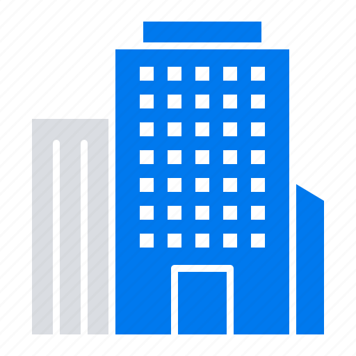 american, building, office icon