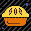 pie, desert, cake, breakfast, food