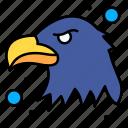 eagle, emblem, majestic, seal, usa