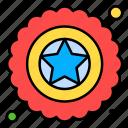 badge, independence, military, star, usa