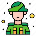 soldier, man, military, general, avatar