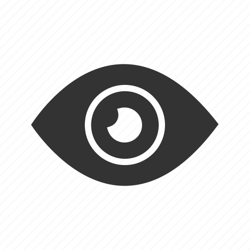 eye, find, look, visible icon