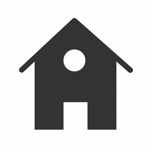 home, house, hut, property icon