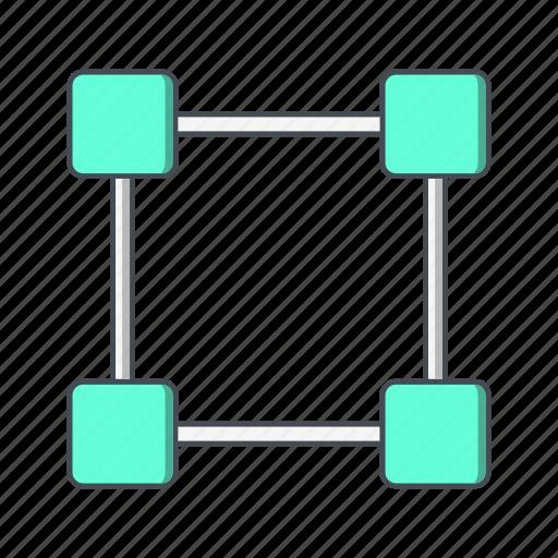 dragging, expand, merge icon