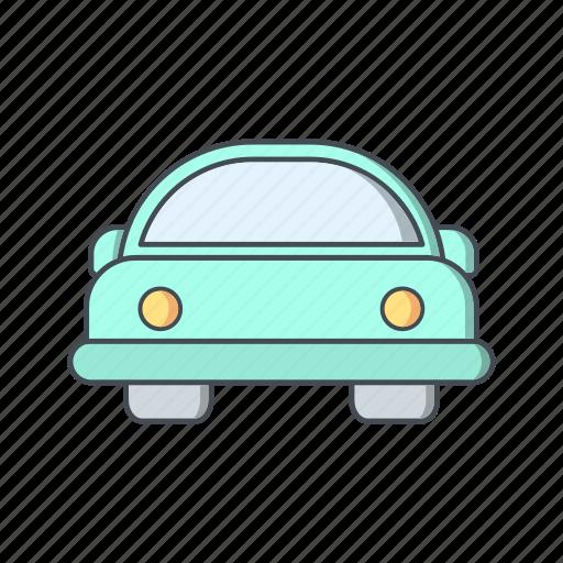 automobile, car, cartoon car icon