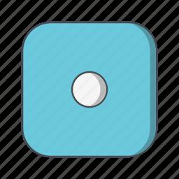 casino, dice, one icon