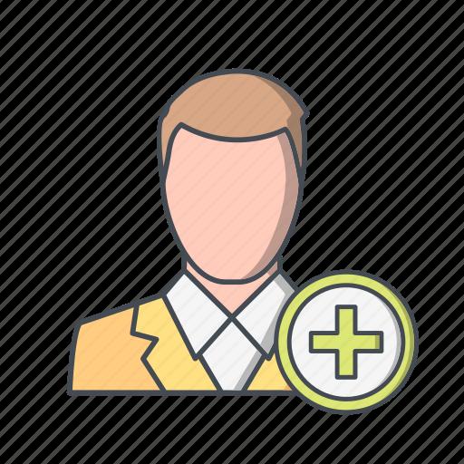 add user, profile icon