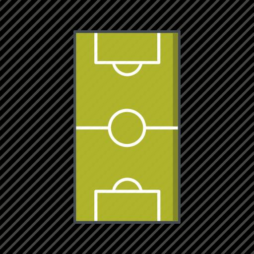 field, football, football field icon