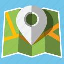 location, marker, navigation, pin, pointer, travel, trip icon