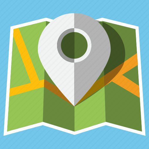 location, marker, navigation, pin, pointer, travel, trip icon