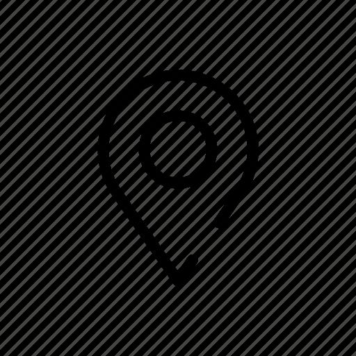 address, controls, destination, interface, map, tag, website icon
