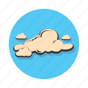 cloud, data, network, storage, weather icon