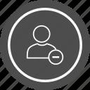 account, block, profile, user icon