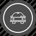 automobile, car, cartoon, vehicle icon