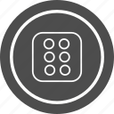 casino, dice, game, six icon