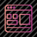 design, page, template, web icon