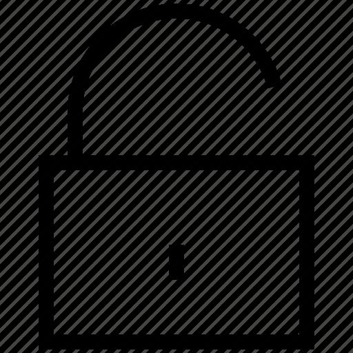 lock, open, security, unlock, unlocked, unsecure icon