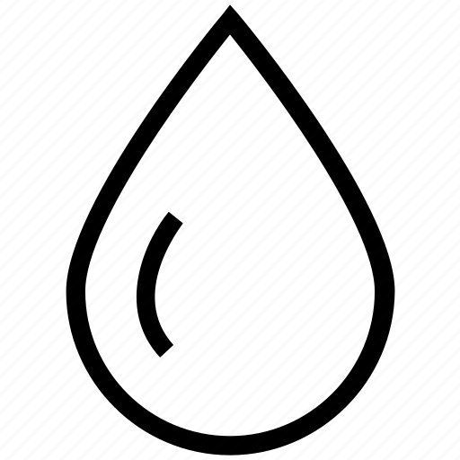 Blood drop, drop, droplet, rain, raindrop, water icon - Download on Iconfinder