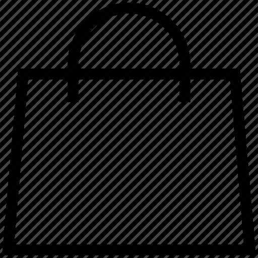 bag, jute bag, purse, shopping bag, shopping purse, tote bag icon
