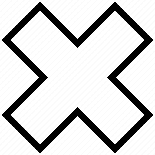 Cancel, close, cross sign, delete, remove icon - Download on Iconfinder