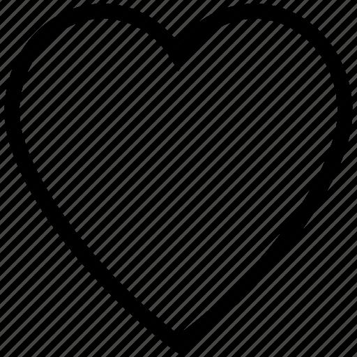 favorites, heart, heart shape, like, love icon