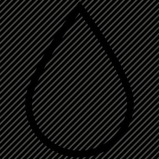 drop, droplet, liquid, rain, raindrop, water icon