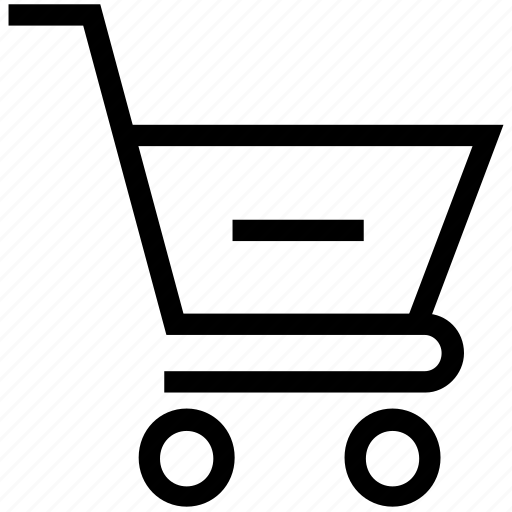 delete order, remove from shopping cart, remove shopping, shopping, shopping cart icon