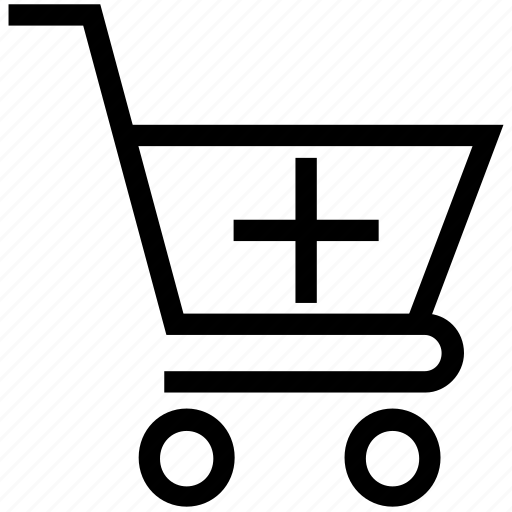 Add in shopping cart, add material, add product, add to cart, more shopping, shopping cart add icon - Download on Iconfinder