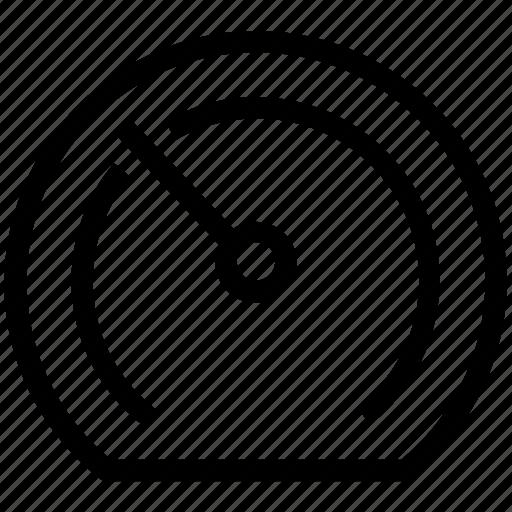 compass, dashboard, gauge, orientation compass, speed meter icon