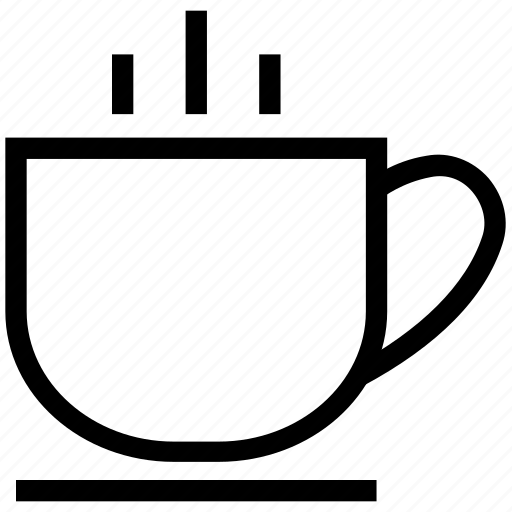 coffee cup, hot coffee, hot tea, tea, tea cup icon