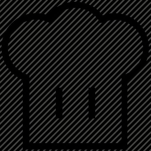 chef cap, chef hat, chef revival, cook cap icon