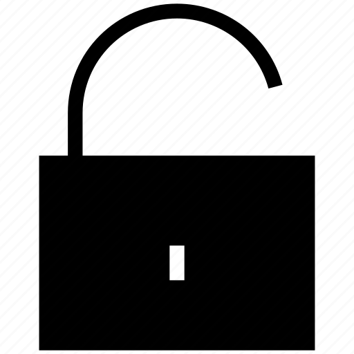 lock, open, security, unlock, unlocked, unsecure icon