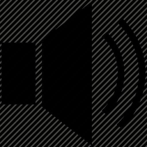 loud, loudspeaker, music, sound, speaker, volume icon