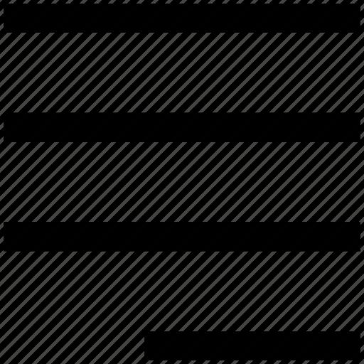 align, alignment, right, right to left align, text align icon