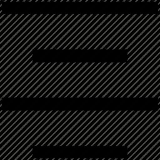 align, alignment, center align, right, text align icon
