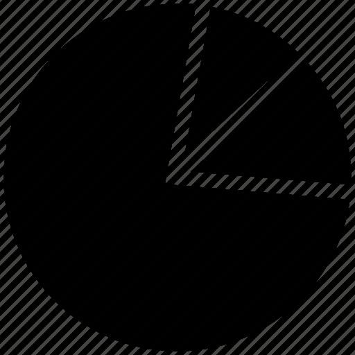 analytics, business chart, graph, marketing chart, pie chart, statistics icon