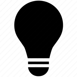 bulb, electric, electricity, filament, illumination, incandescent lamp, light icon