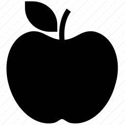 apple, eat, food, fruit, healthy food, nutrition icon