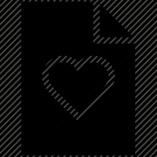 extension file, favorite file, file, heart file icon