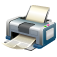 base, fatcow, hardware, paper, print, printer, printing icon