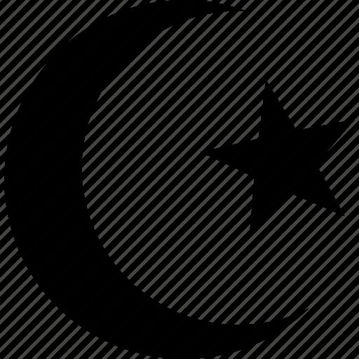 Cresent, islam, moon, muslim, ramadan, religion, star icon - Download on Iconfinder