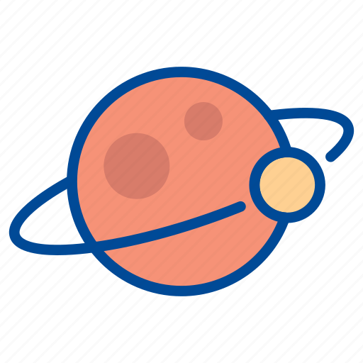astronomy, laboratory, moon, planet, science, space, universe icon