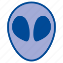 alien, avatar, character, face, profile, space, universe icon