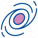 black hole, blackhole, extra terrestrial, planet, space, universe icon